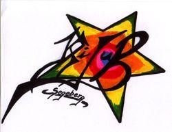 Das ist das Logo des 1. Kinder- und Jugendausschusses der Stadt Bad Segeberg