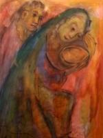 Die Opferschale  (Aquarell 4, nicht datiert)