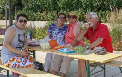 Picknick am See - Internationale inklusive Tafel an der Seepromenade